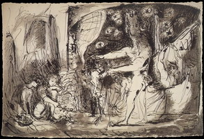 Pablo Picasso. Blind Minotaur led by a little girl