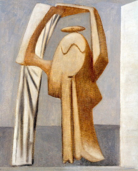 Pablo Picasso. Bather with arms leves, 1929