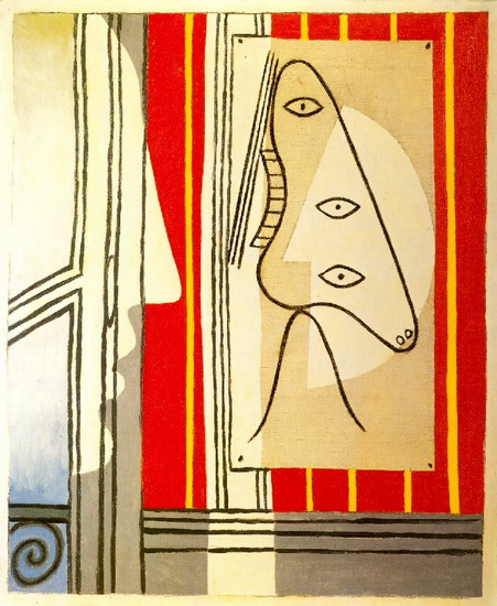 Pablo Picasso. Figure and profile, 1928