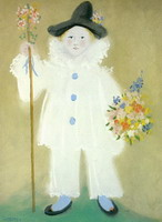 Portrait of Paul in Pierrot