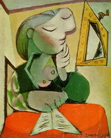 Pablo Picasso. Portrait of a Woman (Woman Reading)