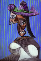 Woman with a Stripped Hat