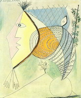 Pablo Picasso. Character seashell [Head of a Woman]