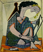 Pablo Picasso. Woman watch, 1936