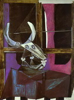 Pablo Picasso. Still Life with Steers Skull