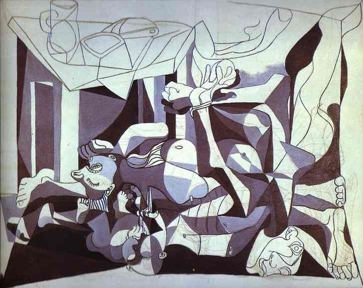 Pablo Picasso. The Charnel House, 1945
