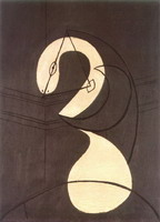 Pablo Picasso. Figure (Head of a Woman)