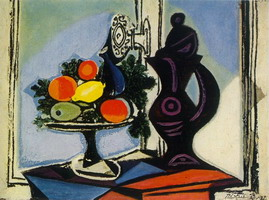 Pablo Picasso. Still life with pitcher