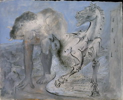 Pablo Picasso. Wildlife, horse and bird, 1936