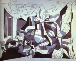Pablo Picasso. The Charnel House