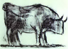 Pablo Picasso. The Bull. State I