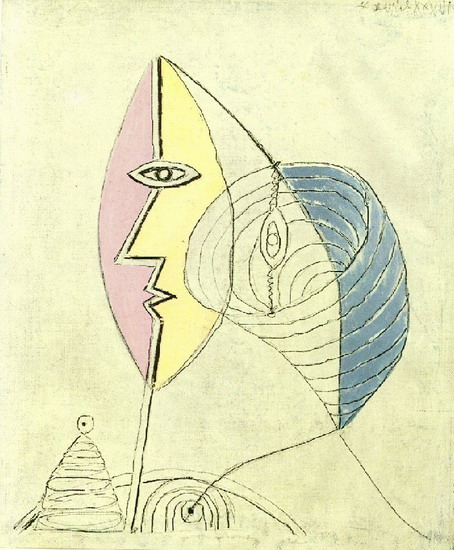 Pablo Picasso. Portrait of girl, 1936
