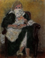 Mother and Child (Marie-Therese Walter emmitouffle Maya)