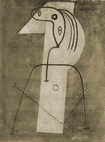 Pablo Picasso. Standing Woman, 1926