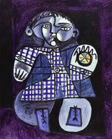 Claude, Son of Picasso, 1948