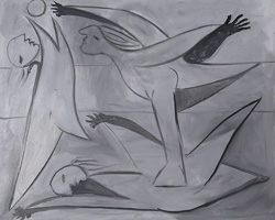 Pablo Picasso. Bathers ball