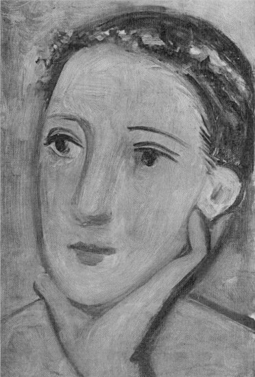 Pablo Picasso. Head of a Woman, 1937