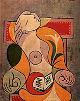 Pablo Picasso. Reading (Marie-Therese)