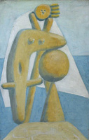 Pablo Picasso. Bather