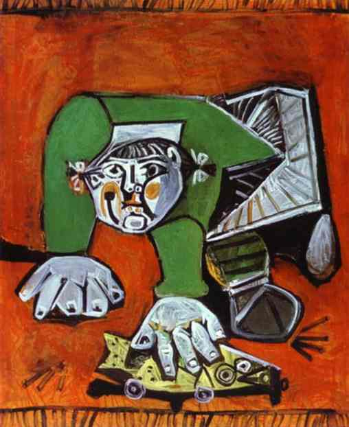 Pablo Picasso. Paloma with Celluloid Fish, 1950