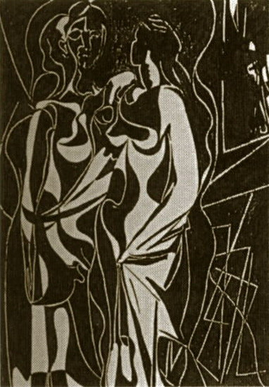 Pablo Picasso. Couple, 1926