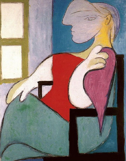 Pablo Picasso. Woman Sitting Near a Window (Femme Assise Pres d'une Fenetre), 1932