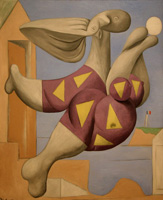 Pablo Picasso. Bather with a beach ball