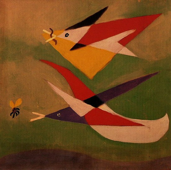 Pablo Picasso. Two swallows, 1932