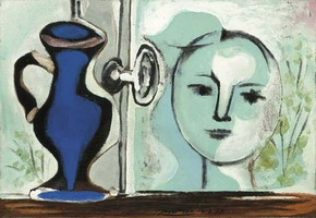 Pablo Picasso. Head past the window