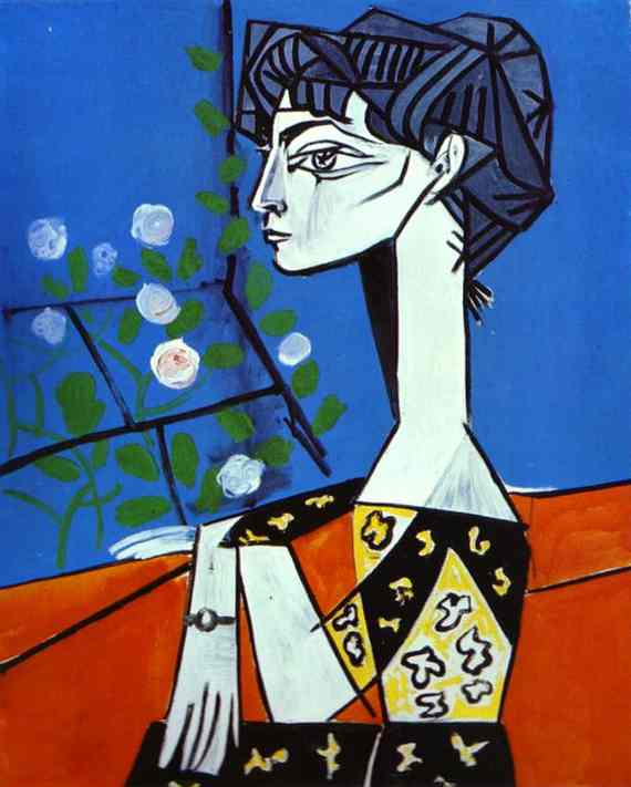 Image result for picasso jacqueline with flowers