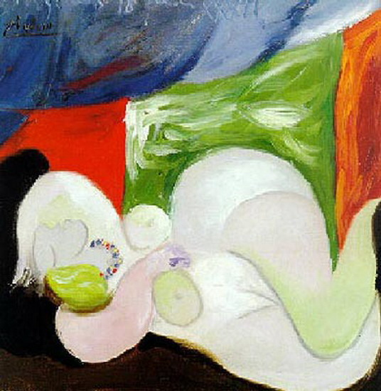 Pablo Picasso. Reclining Nude with the necklace, 1932