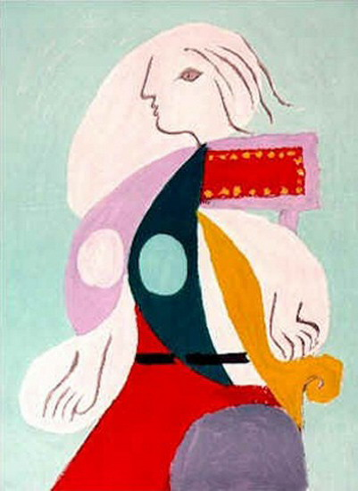 Pablo Picasso. Portrait of Marie-Therese Walter, 1939