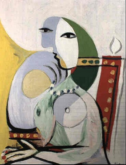 Pablo Picasso. Woman in an armchair, 1932