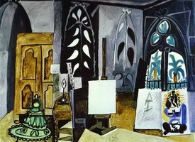 Pablo Picasso. The Studio of