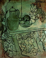 Pablo Picasso. Still life with tomatoes, 1920