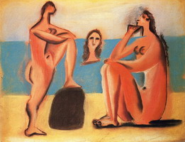 Pablo Picasso. three Bathers
