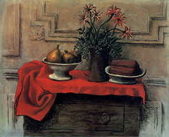 Pablo Picasso. Still life on the dresser