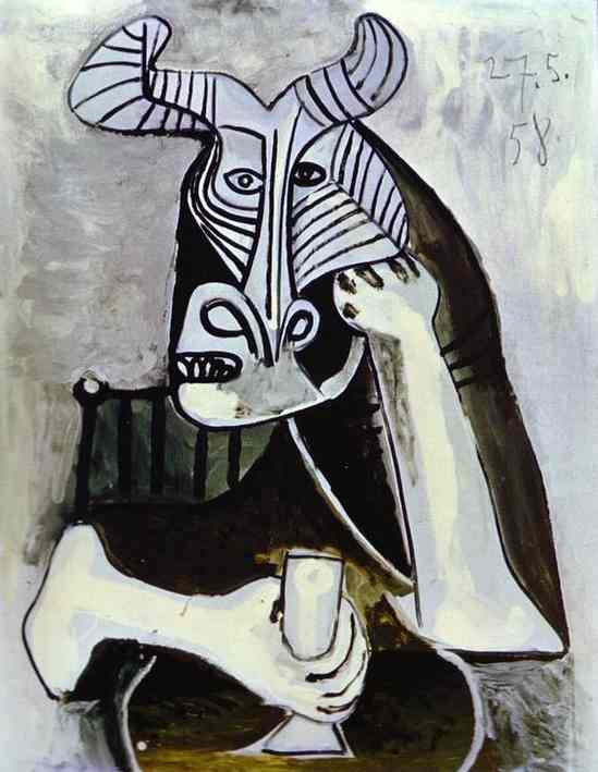 Pablo Picasso. The King of the Minotaurs, 1958