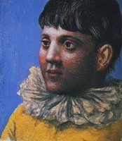 Teenager Portrait as Pierrot