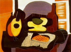 Pablo Picasso. Still life with cake