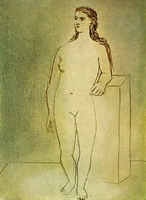Pablo Picasso. Standing Female Nude
