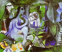 Pablo Picasso. Luncheon on the Grass. After Manet, 1961