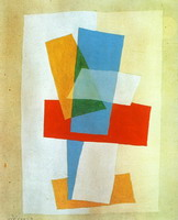 Pablo Picasso. Composition I