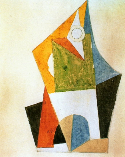 Pablo Picasso. Geometric composition, 1920
