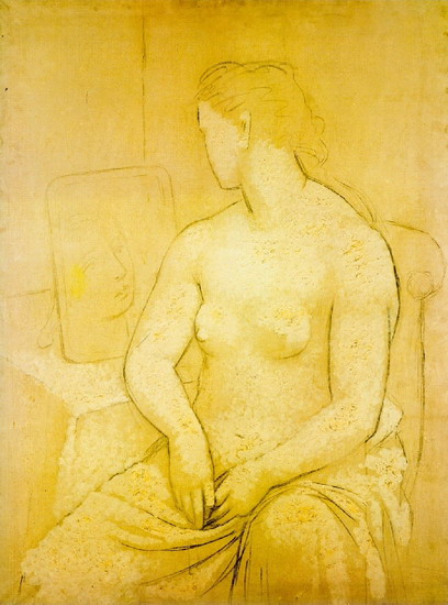 Pablo Picasso. Seated Nude, 1901