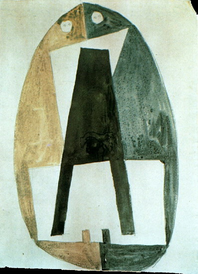 Pablo Picasso. Composition, 1920