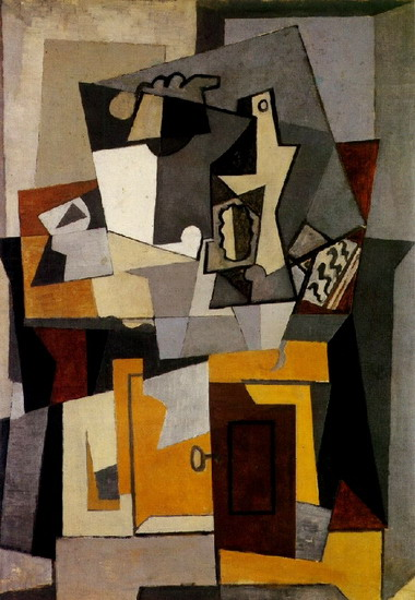 Pablo Picasso. Still life with a key, 1920