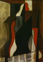 Pablo Picasso. People in chair