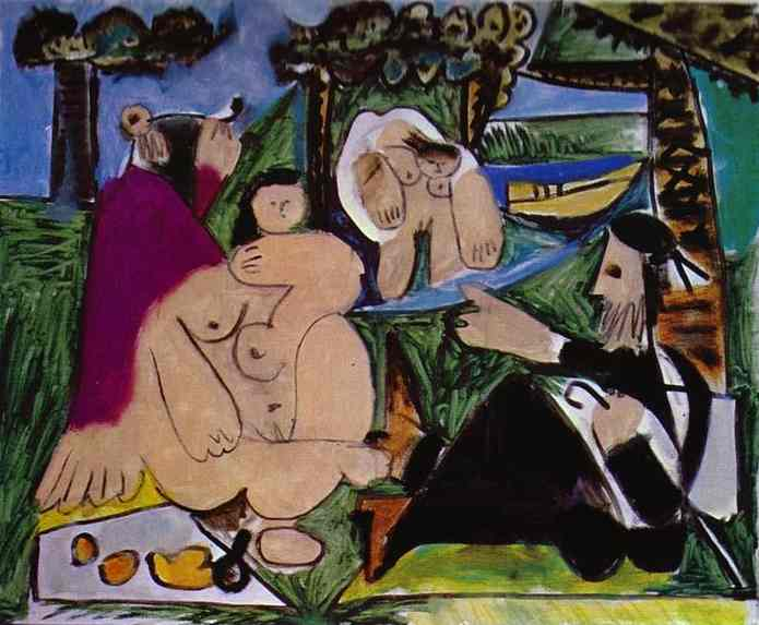 Pablo Picasso. Lunch on the Grass. After Manet, 1960