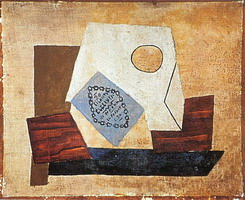 Pablo Picasso. Still Life with pack of cigarettes, 1921